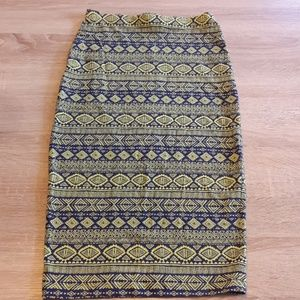 Cute Aztek print Skirt!